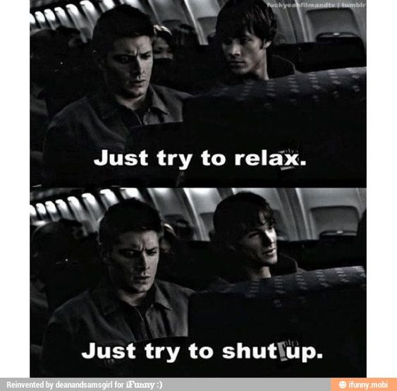Sam and dean Winchester supernatural / iFunny :)
