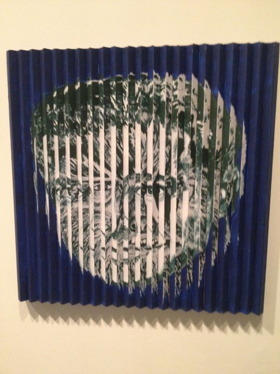 Maria Kozic  MANSTER (WOLF MAN), 1986  Synthetic Polymer paint on wood