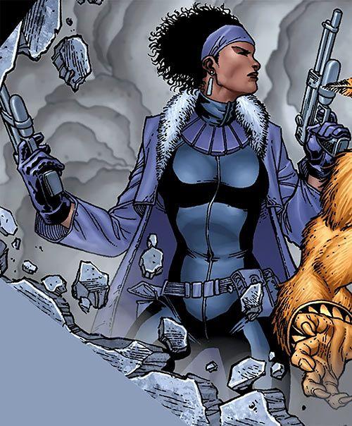 Marvel Tilda Johnson