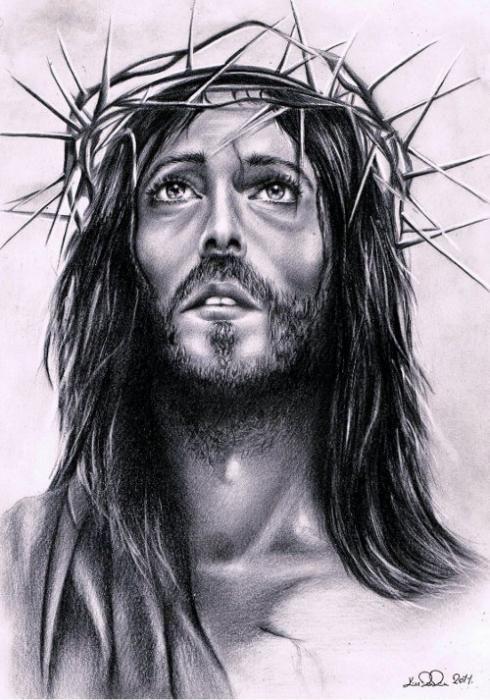 Pencil Drawing Jesus Christ | Drawing ideas | Pinterest ...