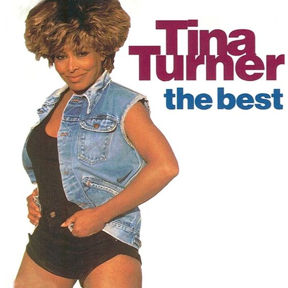 Tina Turner – The Best (single cover art)