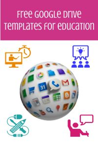 Another great feature of Google Drive is the template gallery. In a Google Apps for Education (#gafe) or Google Apps for Business environment, you can choose to share any of your Drive creations (f...