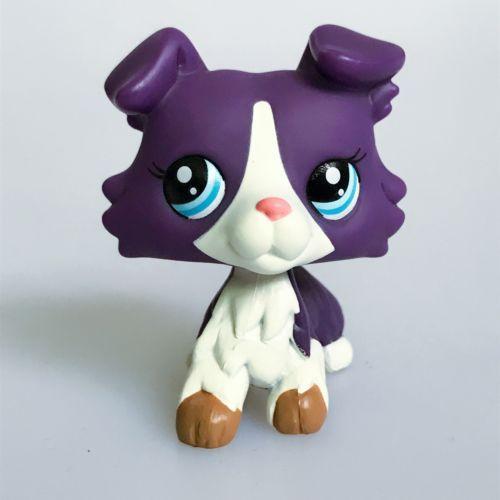 Hasbro Littlest Pet Shop Collection Lps Animals Purple Collie Dog