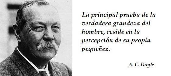 Las 50 mejores Frases de Arthur Conan Doyle