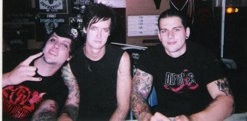 Very Young threesome of Avenged Sevenfold, there are five of course
