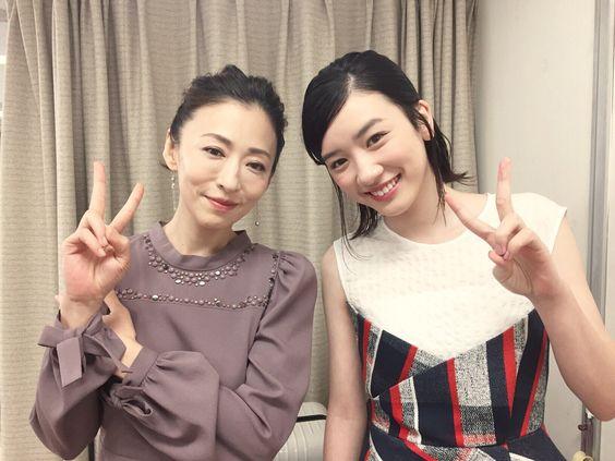 永野芽郁と松雪泰子