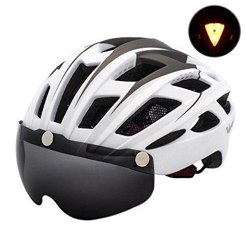 Victgoal Bike Helmet For Men Women With Safety Led Back Light