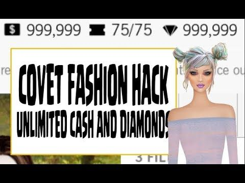 Covet Fashion Cheats Hack For Unlimited Cash And Diamonds Ios