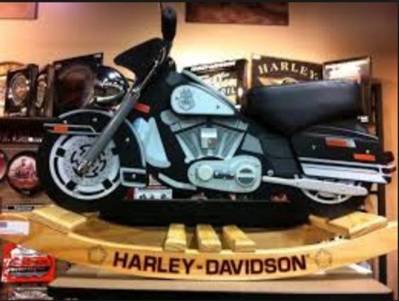 Harley Davidson Painted Wood Rocking Horse | Harley Items Made From Wood |  Pinterest | Rocking Horses And Harley Davidson