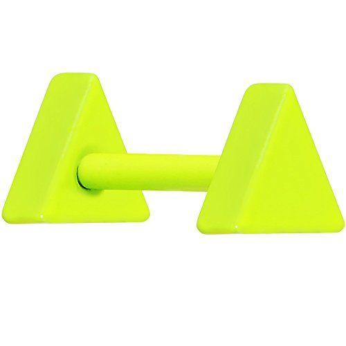 Light Green Neon Enamel Geometry Triangle Cartilage Earring Body Candy http://www.amazon.com/dp/B00GXFY5E8/ref=cm_sw_r_pi_dp_9D.yub11ZB2E9