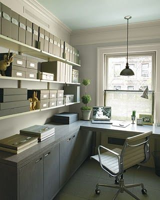 Love the organization and the industrial nature of the design