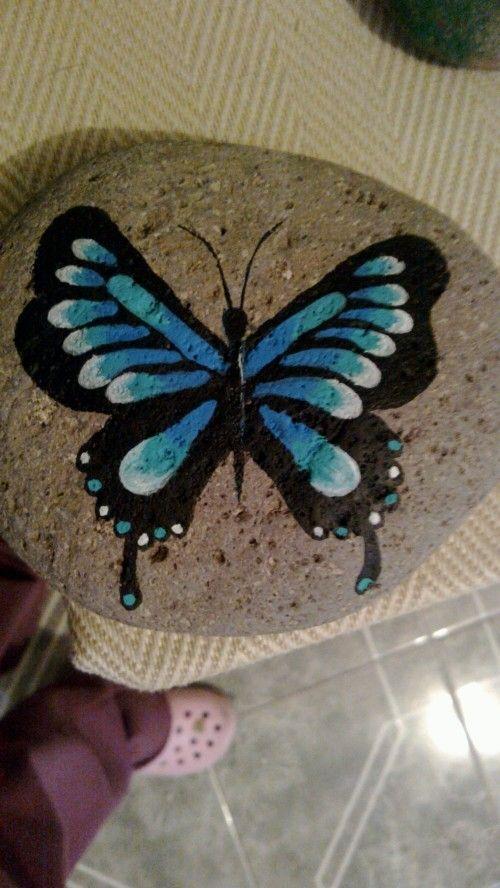 Mariposa Azul...