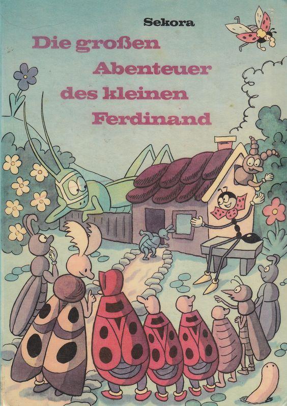 https://flic.kr/p/dqBqjx | Sekora / Die grossen Abenteuer des kleinen Ferdinand | Ondřej Sekora / Die grossen Abenteuer des kleinen Ferdinand Kinderbuch Franz Schneider Verlag In Ko-Edition mit SNDK, Prag (München / Deutschland; 1966)