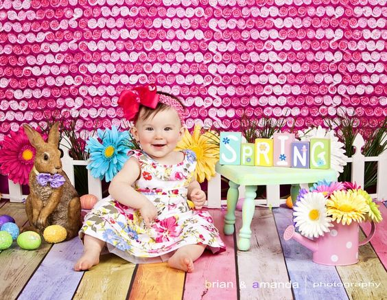 My 9 month old granddaughter Addison's Easter picture - I just LOVE it!!