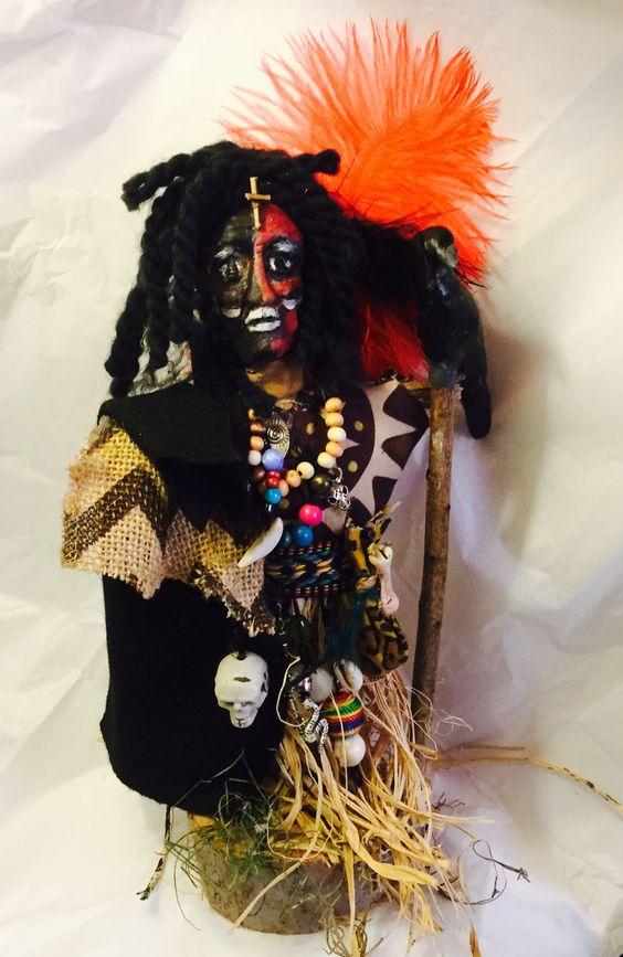 Papa Legba voodoo doll