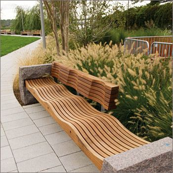 Outdoor benches design