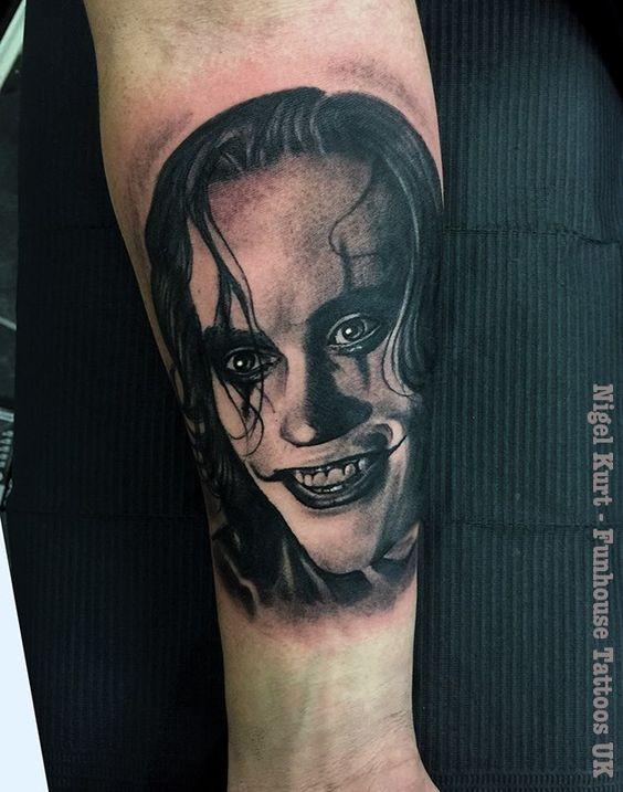 Alice Cooper by Nigel Kurts's Funhouse Tattoo Studio