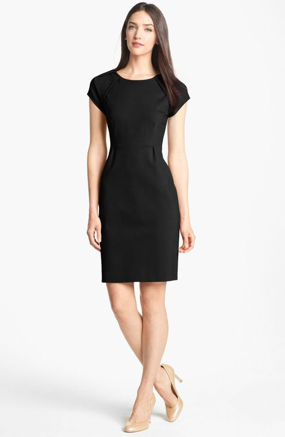 Kate Spade New York Little Black Dress Ivie Dress-Size 12-Brand ...