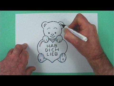 Wie Zeichnet Man Ein 3d Herz Mit Bleistift Online Zeichnen Lernen Youtube Kinder Zeichnen Herz Zeichnen Zeichnen Geschenk