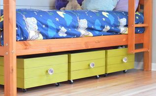 rolling toy boxes made from drawers, bedroom ideas, how to, organizing…