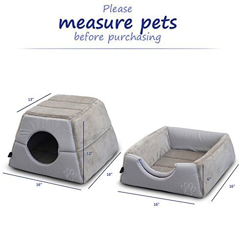 Pet Grow 2 In 1 Cat Bed Cave House For Hamster Squirrel Small Animal Cozy Pet Cat Sofa Fade Resistance Non Skid Kittens Bed Cat C Kitten Beds Cat Condo Cat Bed