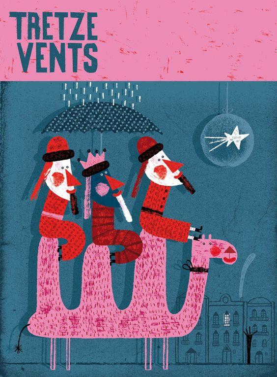 Paloma Valdivia Ilustraciones: Noche de Reyes