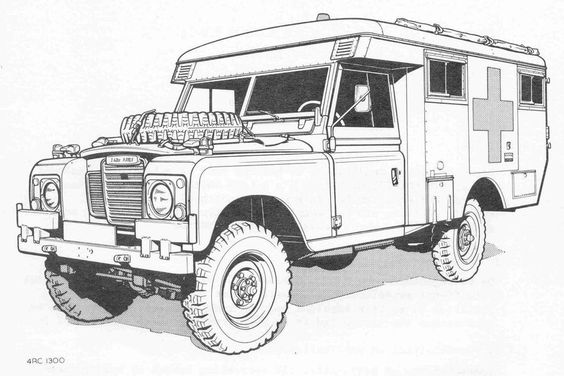 Magnificent Land Rover Series Coloring Pages Photo - Coloring Page ...
