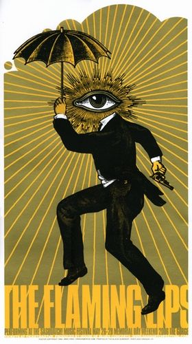 The Flaming Lips Concert Poster (Sasquatch!) by Mike King