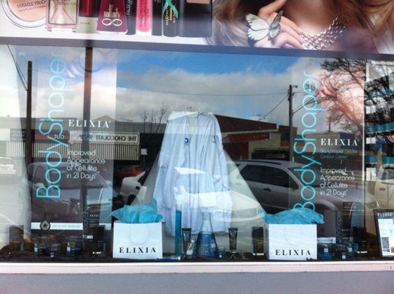 Gorgeous #Elixia #Priceline window display in Warragul, Victoria