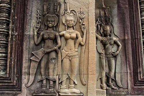 Campuchia coi Apsara như một điệu múa cổ mang linh hồn