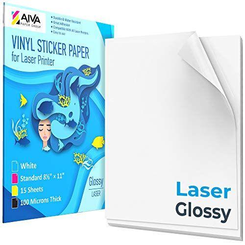Printable Vinyl Sticker Paper For Laser