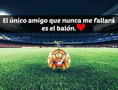 Balón De Fútbol Frases Motivadoras De Futbol Fraces