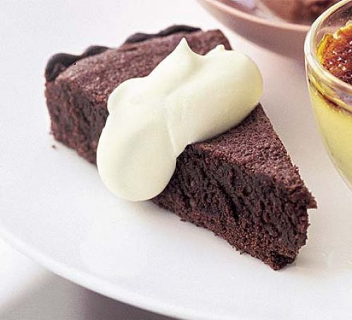 Dark mocha torte