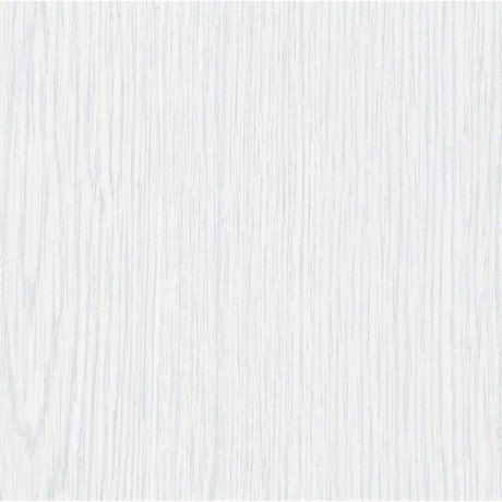 Revêtement adhésif Bois, blanc, 2 m x 0.67 m