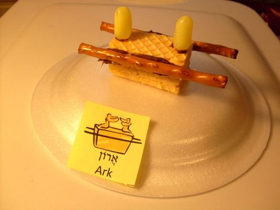 Edible ark of covenant snacks for kids pinterest for Building the tabernacle craft