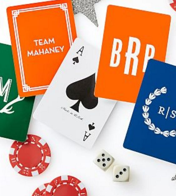 Double Deck Personalized Playing Cards
