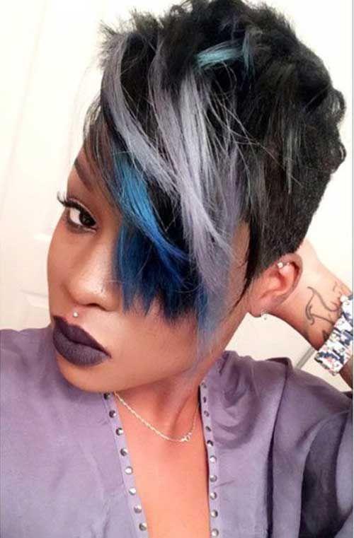 30 cortes de pelo corto para las mujeres negras //  #Cortes #corto #mujeres #negras #para #pelo