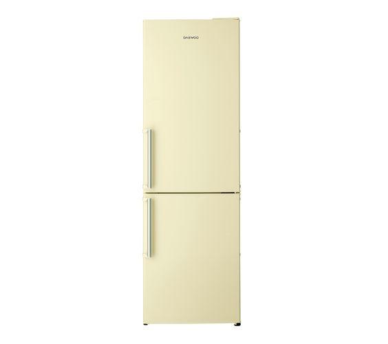 DAEWOO DFF530LC Fridge Freezer - Cream