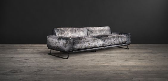 A vintage Parisian design gets a rugged reinvention in the Willow sofa. Daring & authentic furniture by Timothy Oulton.