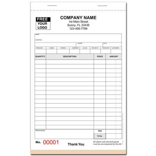 Business Receipt Books Letter Of Recommendation Format Order Book Purchase Order Form