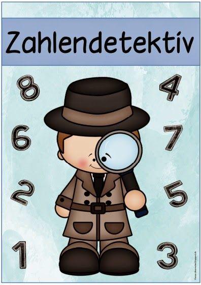 """Mathe in der Grundschule: Kopfrechenidee """"Zahlendetektiv"""""""