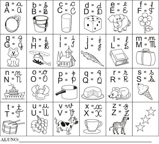 Letras Del Alfabeto Para Imprimir En Cursiva English Lessons Abc Education