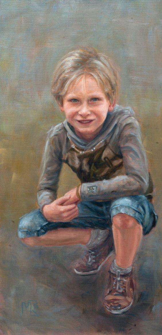 Mieke Robben. Portret in opdracht Martijn. Een portret in opdracht kan voor verschillende gelegenheden gemaakt worden. Als verrassing voor een speciale gelegenheid of als aandenken aan een bijzonder persoon.
