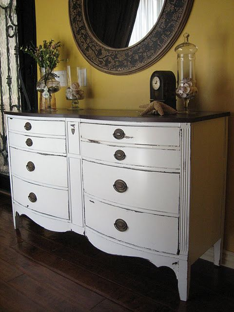 just bought a dresser exactly like this , can't wait to paint it!
