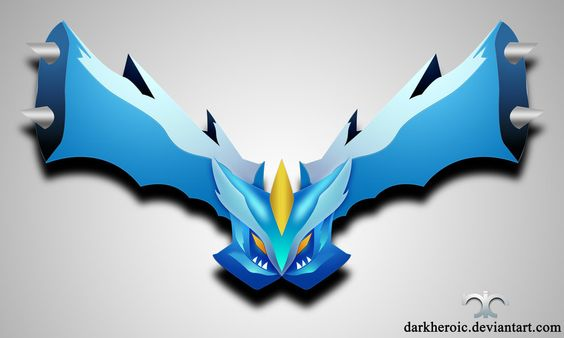 Kyurem by darkheroic.deviantart.com on @deviantART