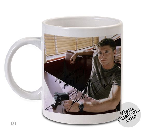 Jensen Ackles Supernatural, Coffee mug coffee, Mug tea, Design for mug, Ceramic, Awesome, Good, Amazing