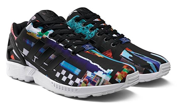 "The newly launched #adidas ZX Flux ""Photo Print"" pack"
