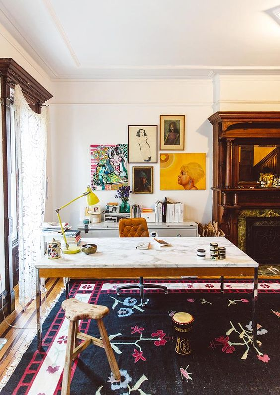 A Brooklyn Brownstone Built Around Family and History | Design*Sponge: