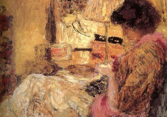 Edouard Vuillard / Sewing
