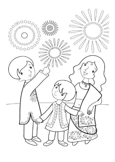 Happy Diwali Colouring Pages 2018 Diwali Drawing Diwali Festival Drawing Diwali Colours
